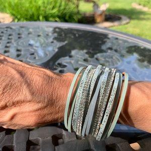 BoHo multi layer leather bracelet